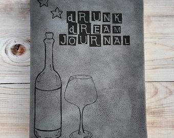 Drunk Dream Journal (small gray)
