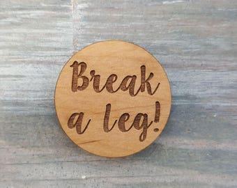 Break A Leg coins set of 10, cast gift, break a leg cast gift, cast gift, director gift, actor gift, stage manager gift
