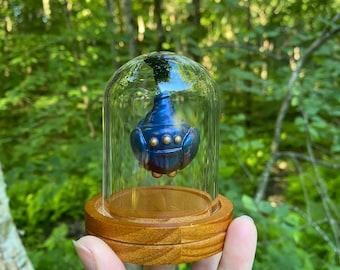 Small Bell Jar Cobalt