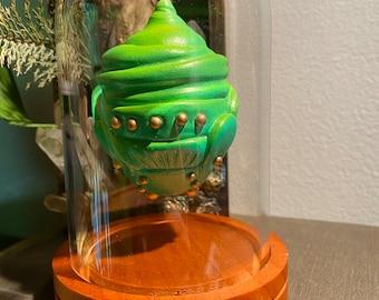 Lime Green Bell Jar Dragon