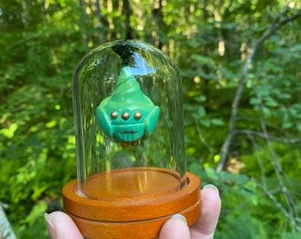 Small Bell Jar Green