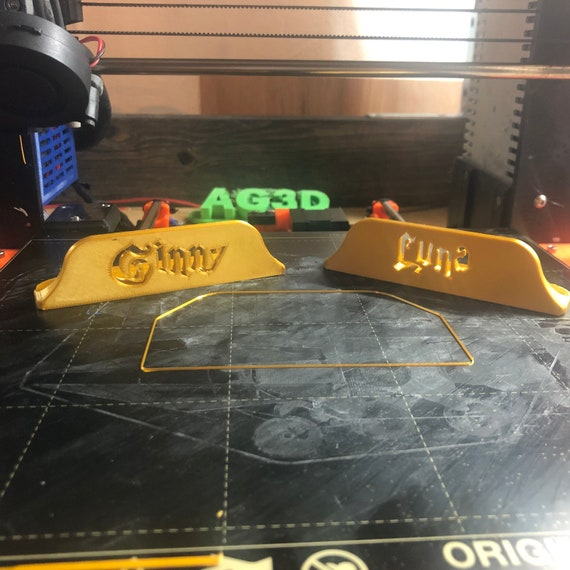Harry Potter Hogwarts Battle Board Game Character Card Holders 3D printed Accessory