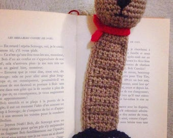 "Bookmark ""french bear"""