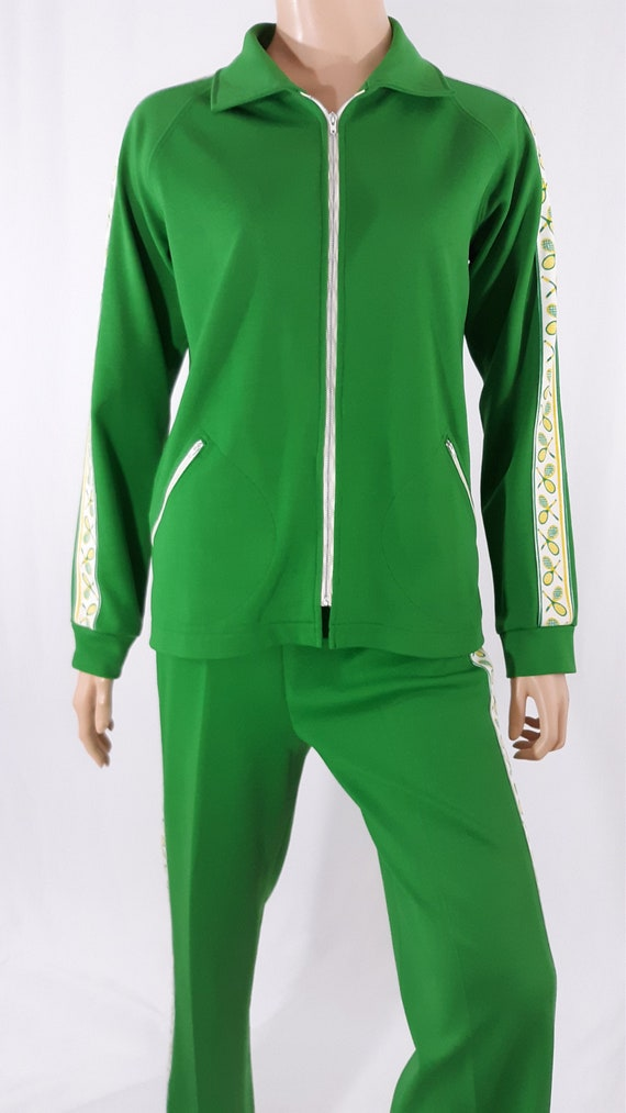 70's Women's Tracksuit Early 70s Tennis Themed Lim