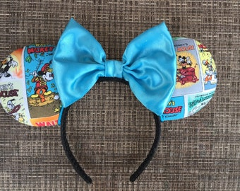 Classic comics book Mickey Ears, Comics book Disney ears