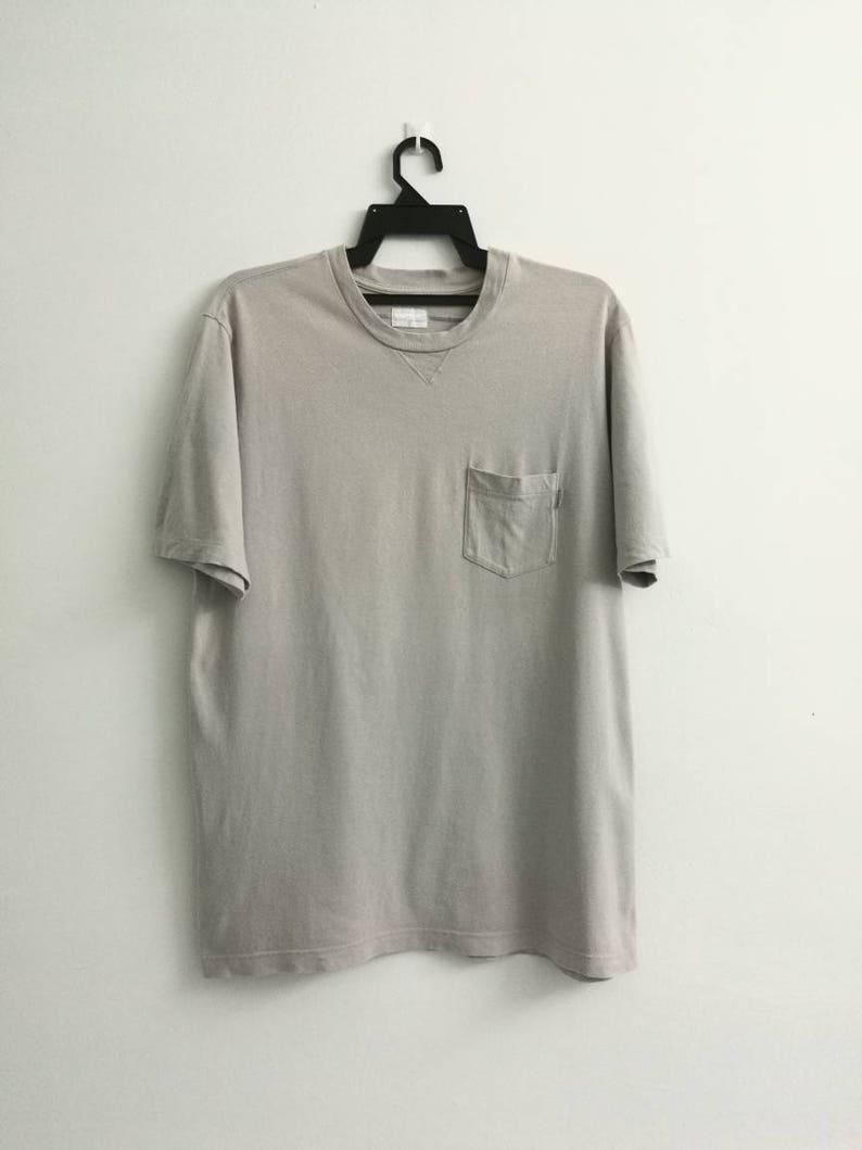 53a04d2d7120 Plain Pocket SUPREME T-shirt Large Size