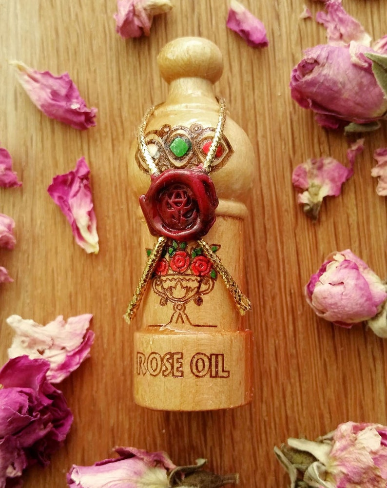 100% True & Pure Bulgarian Rose oil otto Certified 05 or 1 image 1