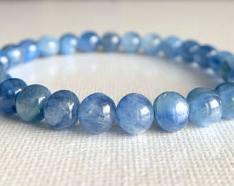 Healing Crystals Activates Third Eye Chakra Super Dainty 4mm IOLITE Bracelet Boost Psychic Power Shaman Stone Strengthen Intuition