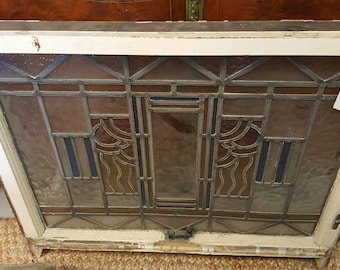 Art Deco Neaveau Stained Glass Windows! Very good condition!