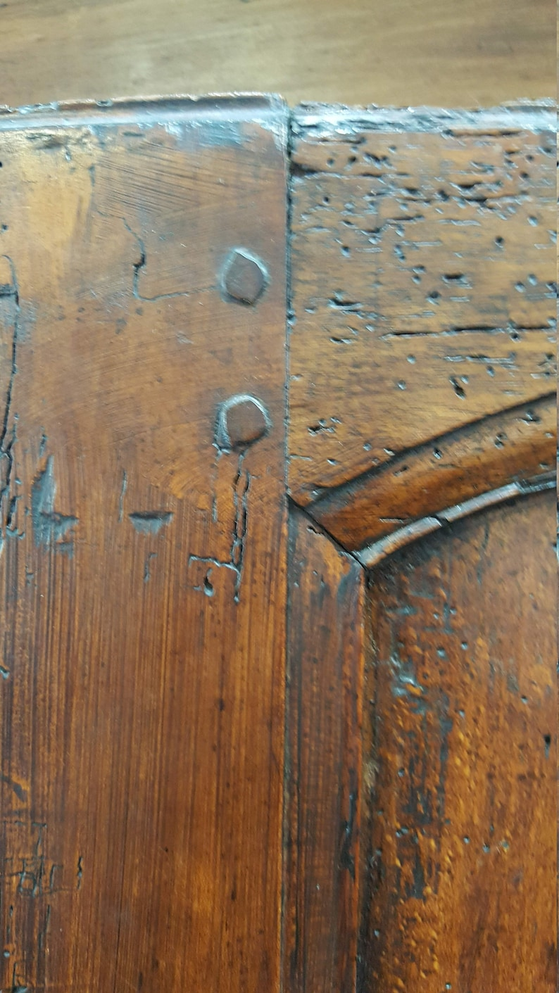 Early Period Louis XV French Cabinet Wardrobe with lock and key
