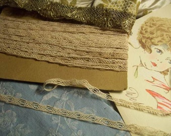 small antique lace, 3 meters, doll
