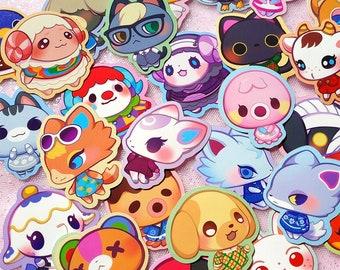AC Sticker Marshal Dom Sherb Stitches Fauna Audie Marina Zucker Diana Beau Raymond Judy