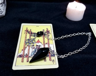 Scrying pendant etsy aloadofball Image collections