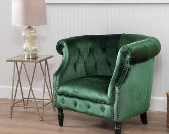 Popular Items For Green Velvet Chairs