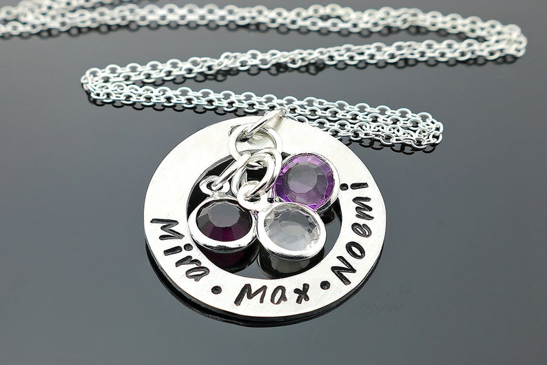 Custom Mother Necklace Custom Necklaces for Women Mother Necklace with birthstones Mother day Necklace Custom Birthstone Necklace
