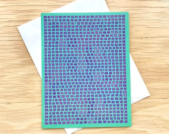 Box of 6 Blank Inside Greeting Cards