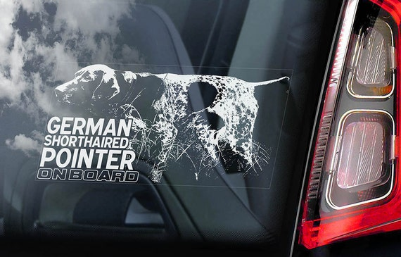 V04 Great Dane on Board Car Window Sticker German Mastiff Dog Sign Decal