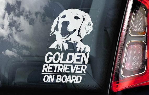 Got Golden Retriever Sticker Vinyl Auto Window Sticker
