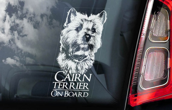 Border Collie on Board Car Window Sticker Sheepdog Dog Sign Decal Gift V02