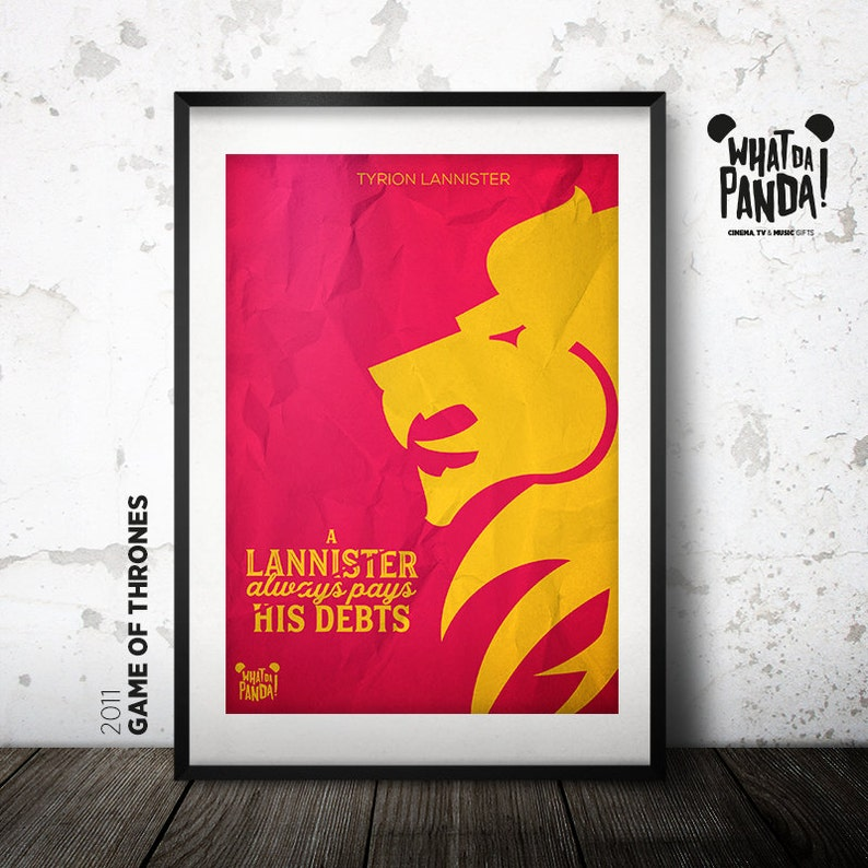 Game of Thrones  A Lannister always pays his debts. image 0