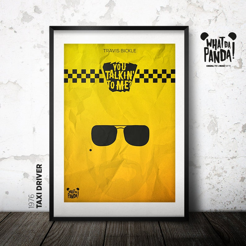 Taxi Driver  You talkin' to me by Travis Bickle image 0