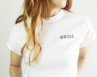 Pocket Bride Shirt, Bride Shirt, Bachelorette Shirt, Bride to Be, Bachelorette Party Shirts, Team Bride, Bride Gift, Engagement Gift