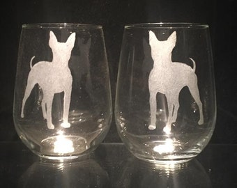"mug /""Good morning and love/"" ceramic cup USA American Hairless Terrier"