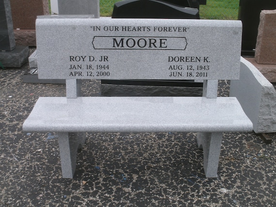 Peachy Granite Park Bench Golfer Memorial Engraving Available Free Shipping 999 00 Ibusinesslaw Wood Chair Design Ideas Ibusinesslaworg