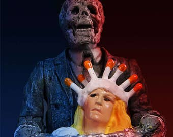 """Creepshow """"Fathers Day"""" 3.75"""" Scale Retro Action Figure"""