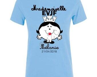 Miss blue bachelorette party bachelorette party T-shirt