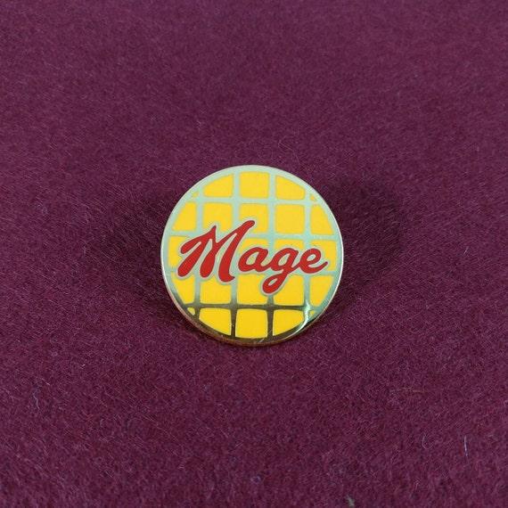 Comic Expletives Heck and Dang hard enamel lapel pin set
