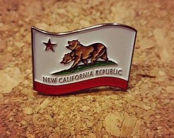 Fallout NCR Flag Enamel Pin RESTOCKED