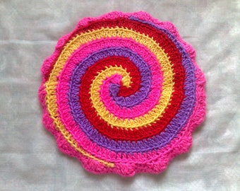 Pan-cloth crochet for your country house