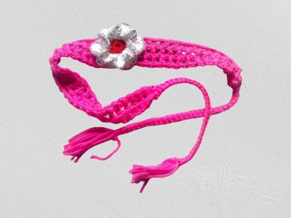 Headband for newborn, baby party, crochet flowers hair accessories, crochet headband, crochet headband