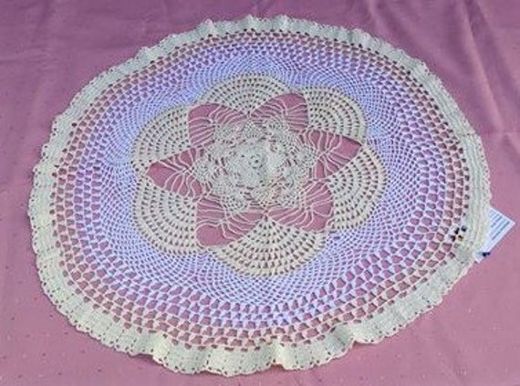 Sale Crochet Covers 26.8 Inches-68 cm very nice Cover to make your Table perfect