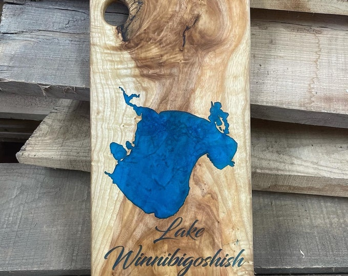 Custom Lake Charcuterie Boards