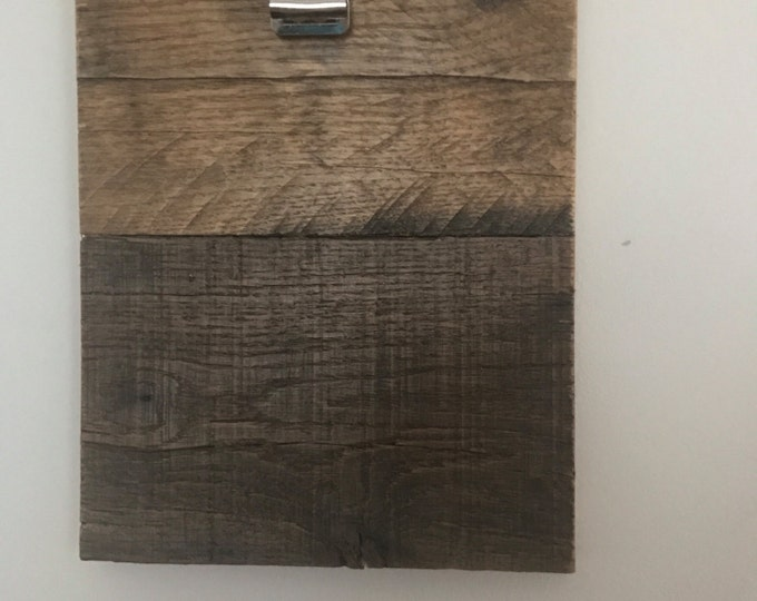 Pallet Clipboard Picture Frame
