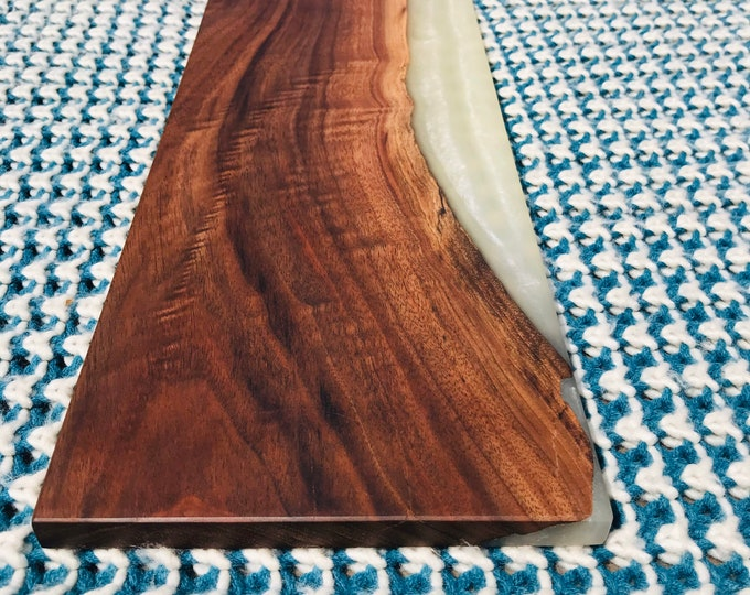 Walnut and Epoxy Charcuterie Board