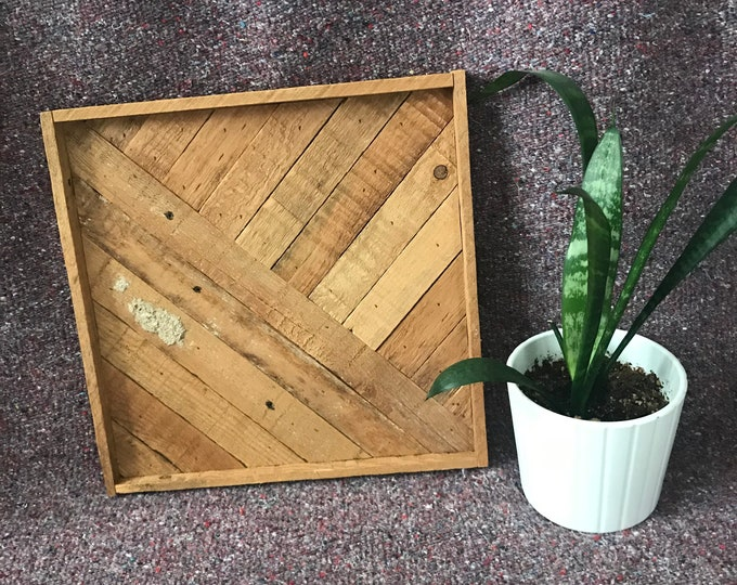 Wood Mosaic   Reclaimed Wood Mosaic   Wood Art