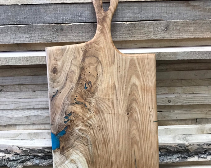 Ash Charcuterie Board with Handle