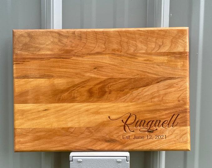 Custom Engraved Cutting Board