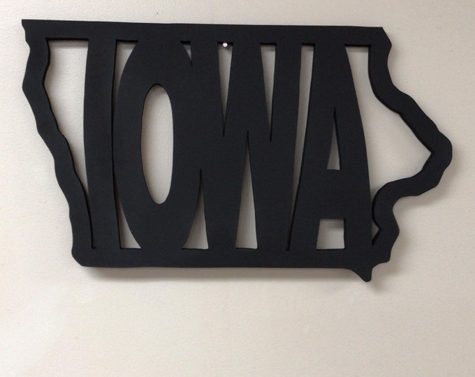 Iowa Wall Decor