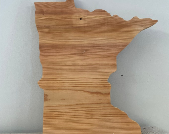 MN Wall Decor | Wooden Minnesota