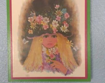 Flower girl art work by A.Gruerio
