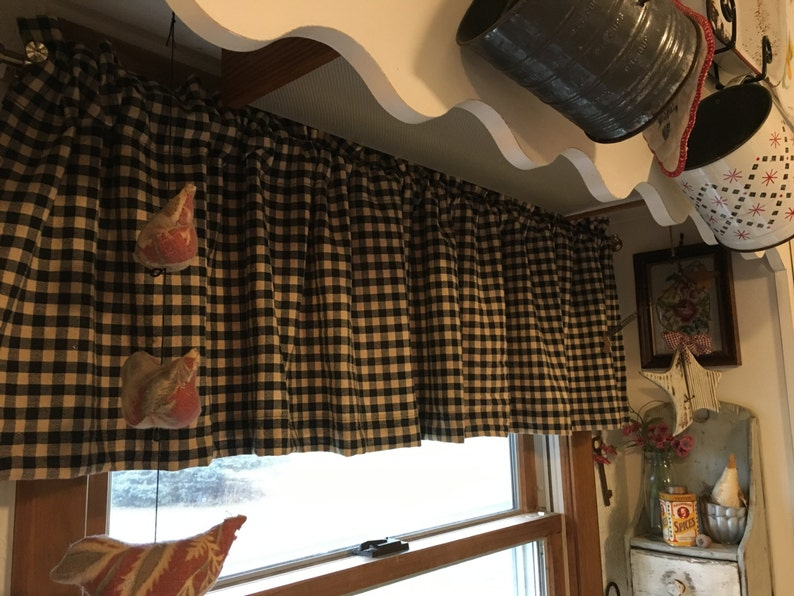 Primitive Patchwork Shower Curtain Homestead Fabric Folk Art Country Decoration