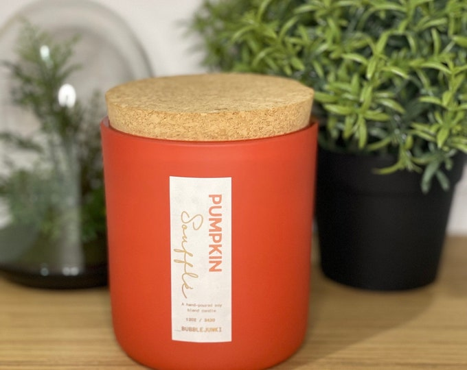 Featured listing image: PreOrder: Pumpkin Soufflé Luxury Soy Candle