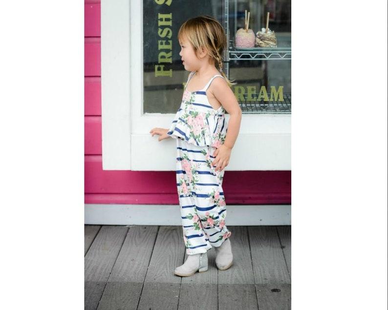 Alyssa Stripe Jumpsuit