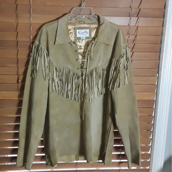 Vintage Leather Scully Top Size XXL