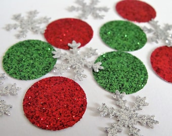 christmas confetti holiday paper confetti winter wonderland confettiholiday party decorbirthday party decorchristmas party decorations - Christmas Party Decorations
