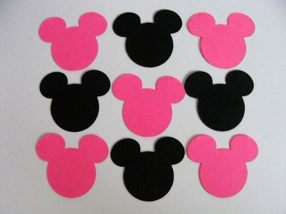 Minnie Mouse Confetti Birthday Decorations